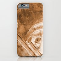 iPhone Cases featuring Vintage Helsinki Cathedral by Alan Hogan