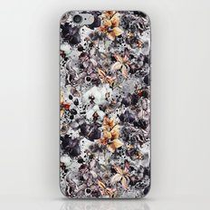 Flowers & Butterflies iPhone & iPod Skin