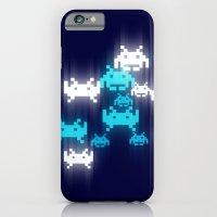 Space Invaders Bokeh iPhone 6 Slim Case