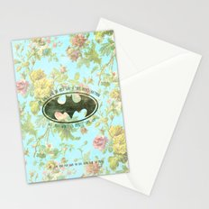 FOR GIRLS WHO DO NOT GIVE SHIT ABOUT BAT MAN Stationery Cards