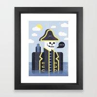 Dead Men Tell No Tales Framed Art Print
