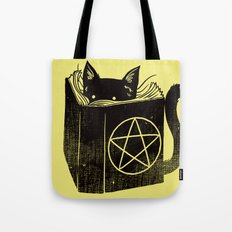 Witchcraft Cat Tote Bag
