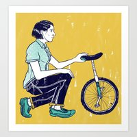 Going Solo... Art Print