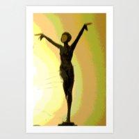 Deco Dance Art Print