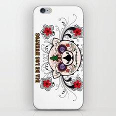 Berto: Dia de los muertos (Day of the dead) iPhone & iPod Skin
