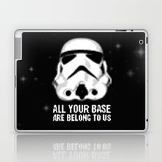 All Your Base Are Belong To Us Laptop & iPad Skin