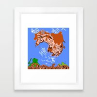 smb 1 Framed Art Print