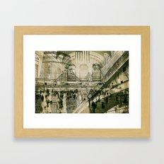 Grand Central Terminal, NYC Framed Art Print