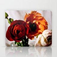 Pretty Flower Trio Laptop & iPad Skin
