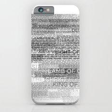 Names of God Slim Case iPhone 6s