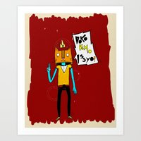 DOKO DEMO ISSYO Art Print