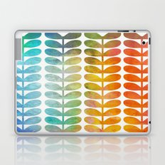 Colorful Leaves from Blue to Orange Laptop & iPad Skin