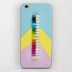 Happy little rainbow pills iPhone & iPod Skin
