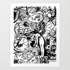 Abstinence Educated Art Print