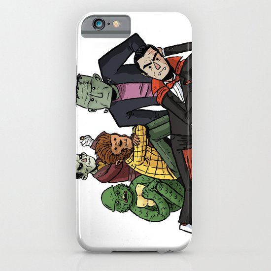 The Universal Monster Club iPhone & iPod Case