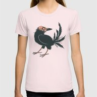 Creeps Womens Fitted Tee Light Pink SMALL