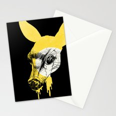 Fawn in Headlight Stationery Cards
