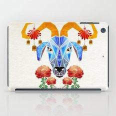 chinese goat iPad Case