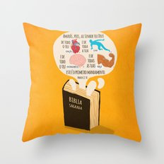 Marcos 12:30 Throw Pillow