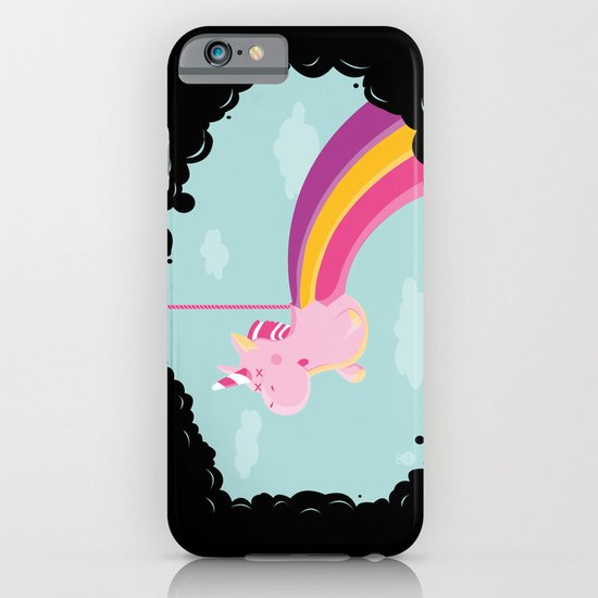 Licorne Piñata Black Version iPhone & iPod Case