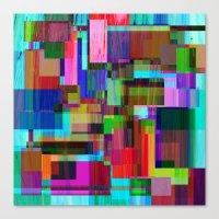 Cubist Candy Canvas Print