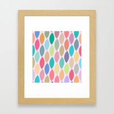 Lovely Pattern II Framed Art Print