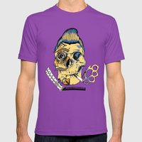 Just An Act Mens Fitted Tee Ultraviolet SMALL