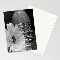 OSTERN - SCHWARZ/WEISS Stationery Cards