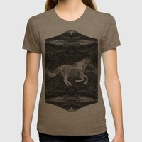 Ciel du Cheval Womens Fitted Tee Tri-Coffee SMALL