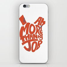 Job =/= Self iPhone & iPod Skin