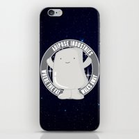 Project Weight Loss iPhone & iPod Skin
