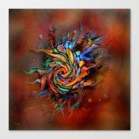 Abstract Wash Canvas Print