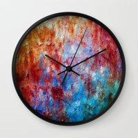 GlamoRust!  Wall Clock