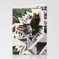 AYAHUASCA CAT Stationery Cards