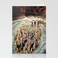 Stationery Cards featuring 1000ft View by Eugenia Loli
