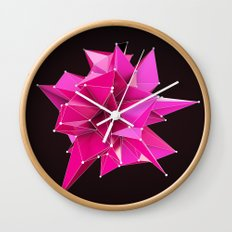 Nik Abstract 3D Wall Clock