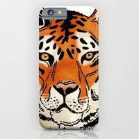 iPhone & iPod Case featuring Tiger by Thomas Gomes