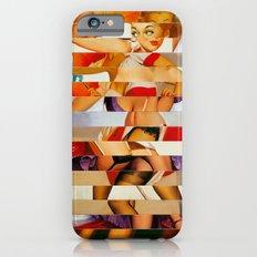 Glitch Pin-Up: Amber Slim Case iPhone 6s