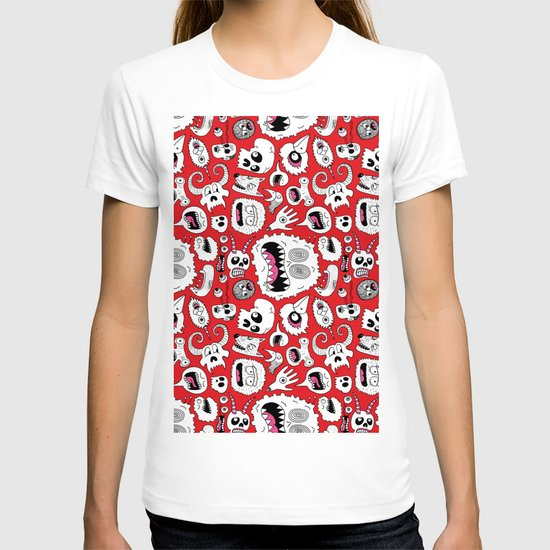 Another Monster Pattern T-shirt