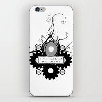 The Karma Machine iPhone & iPod Skin
