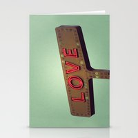 Love Signs Stationery Cards