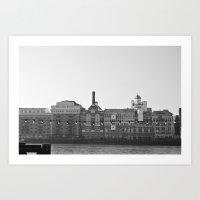 Butler´s Wharf - London Art Print