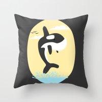 Da' Whale Throw Pillow