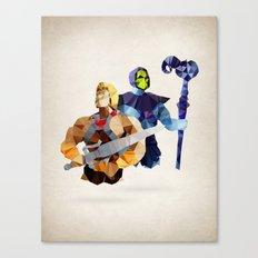 Polygon Heroes - Masters Canvas Print