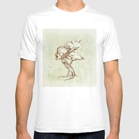 Tree Mens Fitted Tee White SMALL