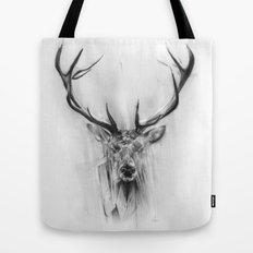 Red Deer Tote Bag
