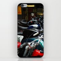 Motorcycles iPhone & iPod Skin