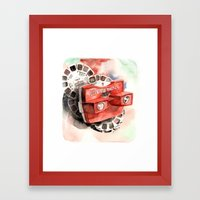 Vintage gadget series: View-Master Model G Framed Art Print
