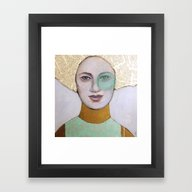 Framed Art Print featuring Envy by Hinterland Girl