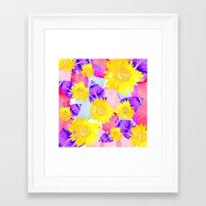 Sunflowers Dream  Framed Art Print